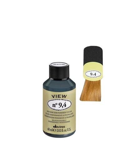 Davines Davines View Yarı Kalıcı Saç Boyası 9,4 Çok Açık Kumral Bakır 60 Ml Renksiz